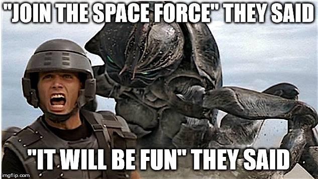 Space Force Origins Meme