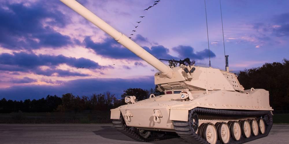 BAE - MPF light tank