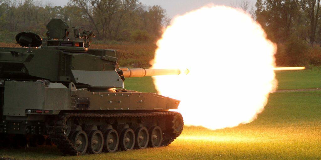 General Dynamic light tank