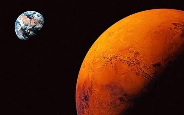 oxygen on mars