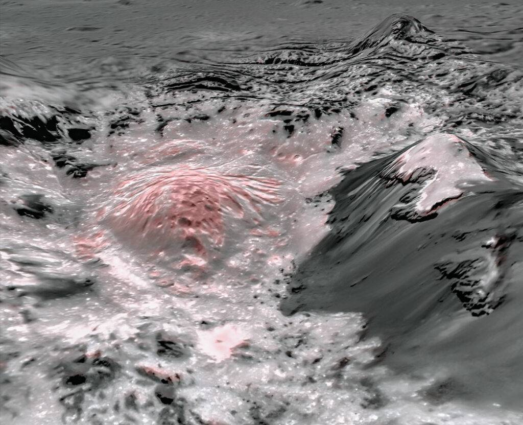 occator crater water