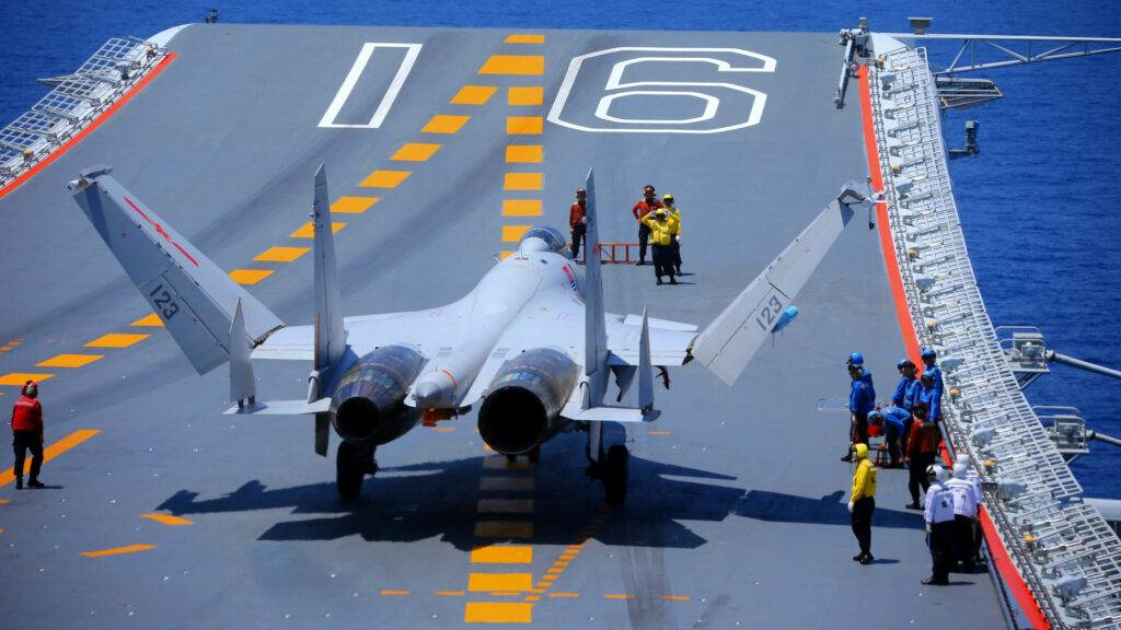 chinese aircraft carriers