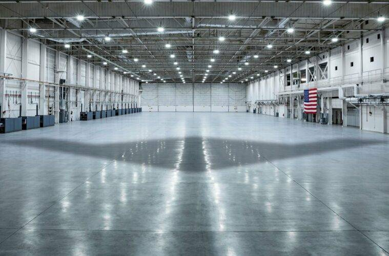 B-21 Hanger in Palmdale, California