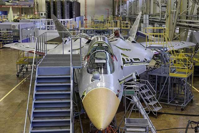 Su-57 in production