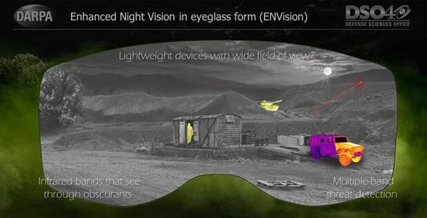 darpa night vision
