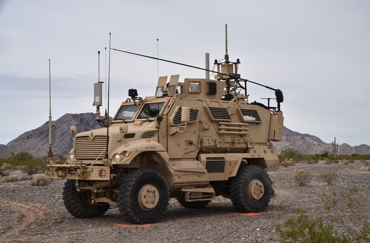 Electronic Warfare Tactical Vehicles