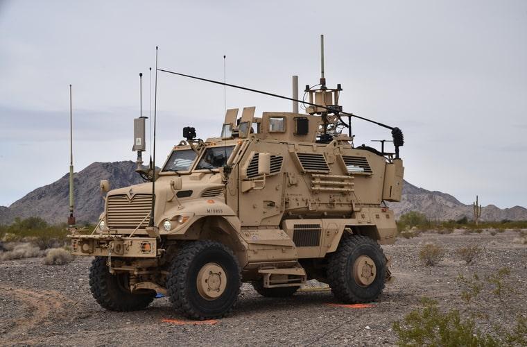 Electronic Warfare Tactical Vehicles