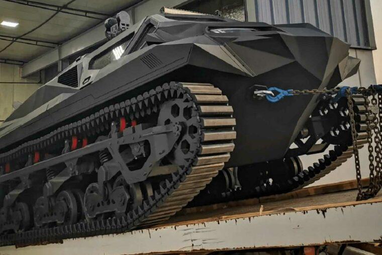 Highland Systems Storm Armoured Hybrid Amphibious MPV