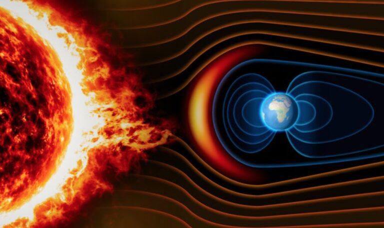 magnetic pole flip