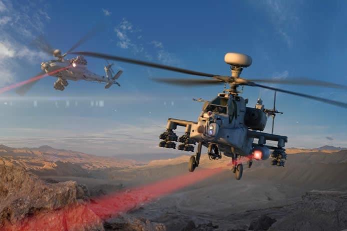 Raytheon High-engery laser