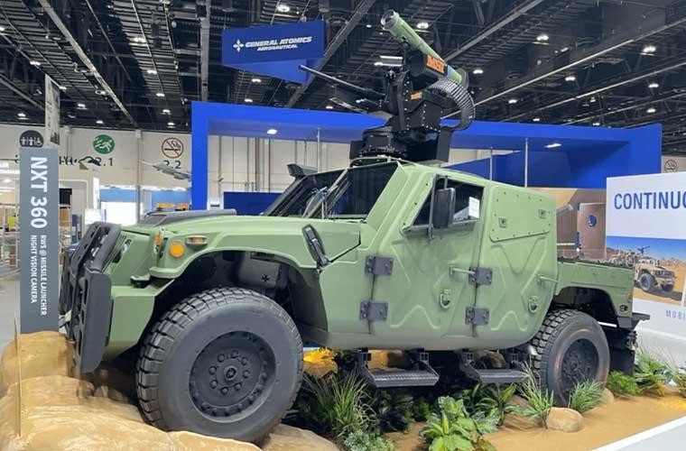 AM General NXT 360 Humvee