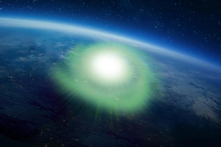 Huracanes espaciales: son posibles y se detectó uno.
