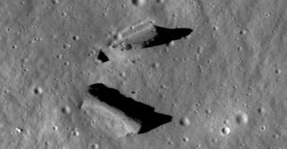 moon structures