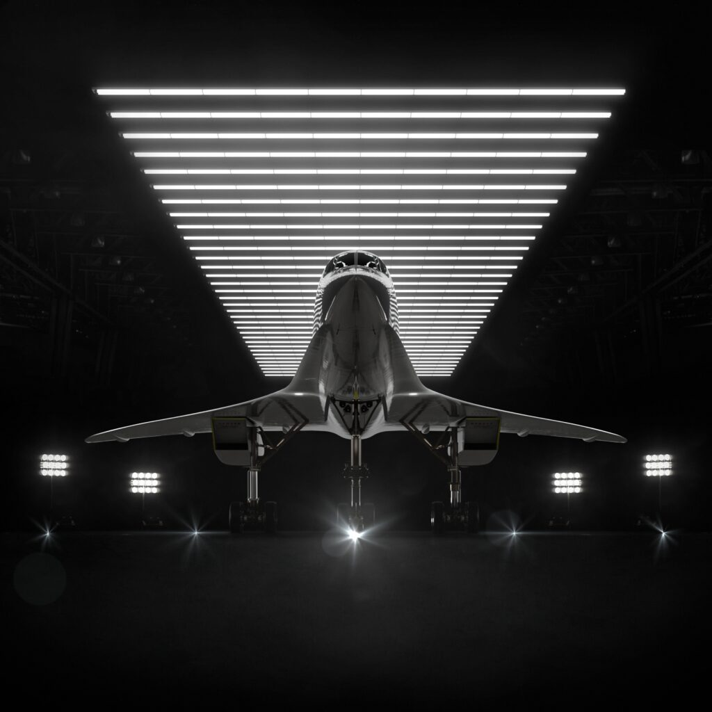 supersonic commercial flight
