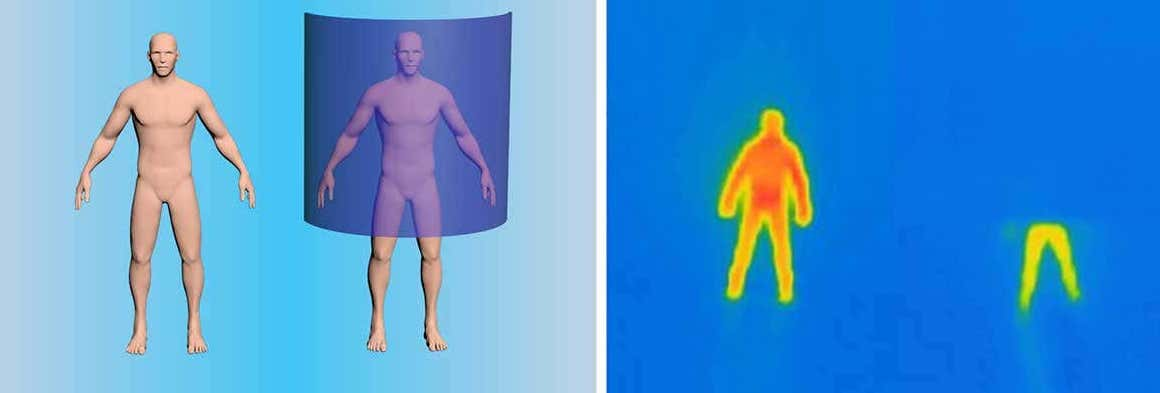 thermal cloaking