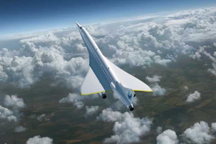 supersonic commercial flights