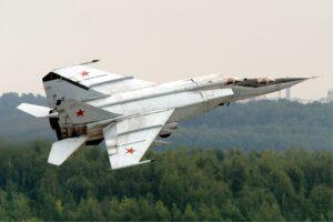 "Mikoyan-Gurevich MiG-25 ""Foxbat."""