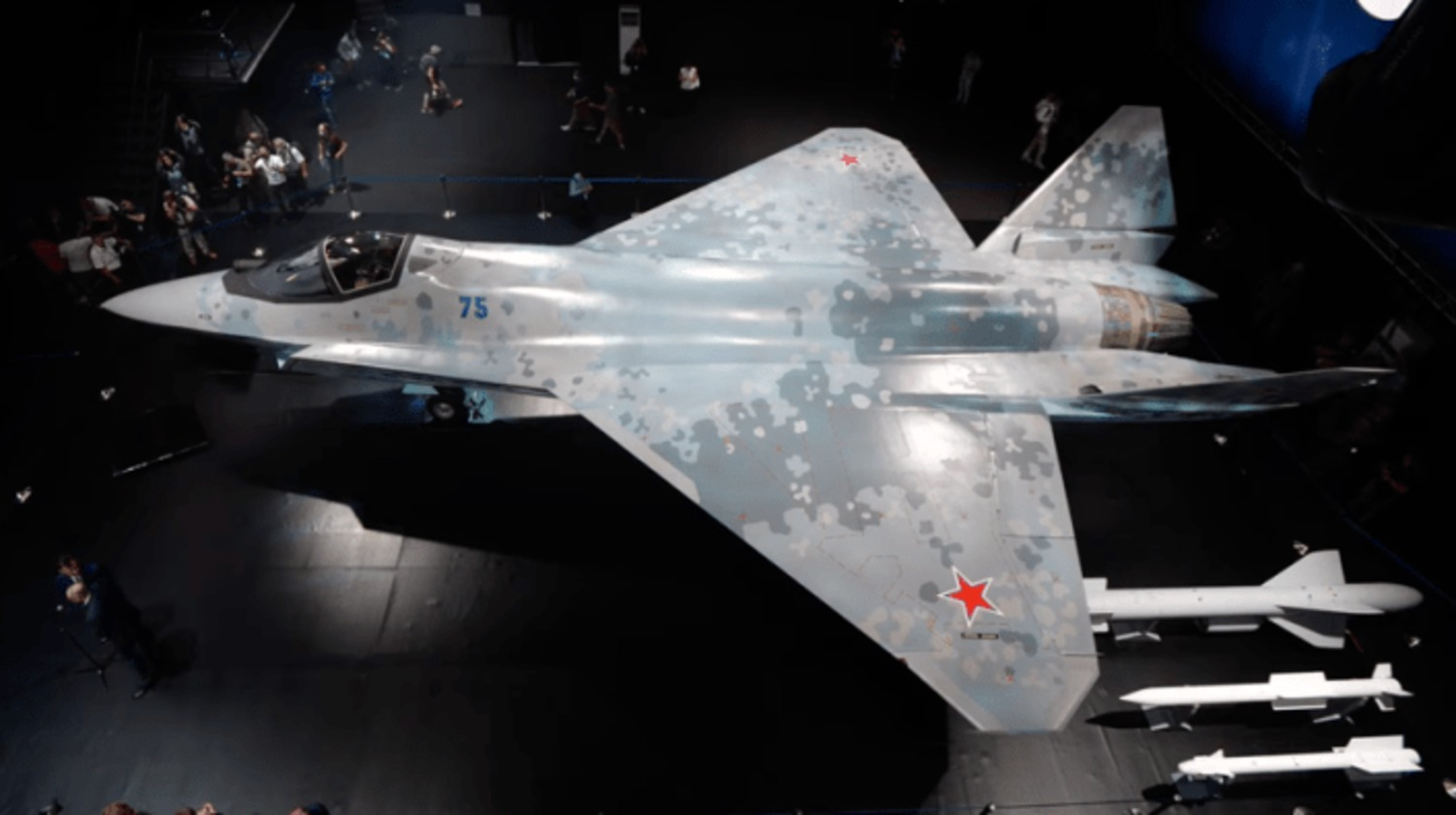 New Su-75 Tactical Fighter Jet
