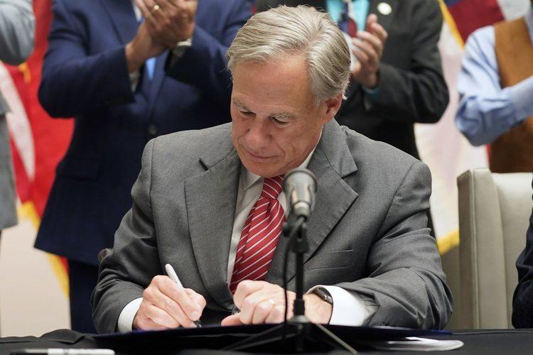 Texas Governor Greg Abbott signs controversial social media censorship law