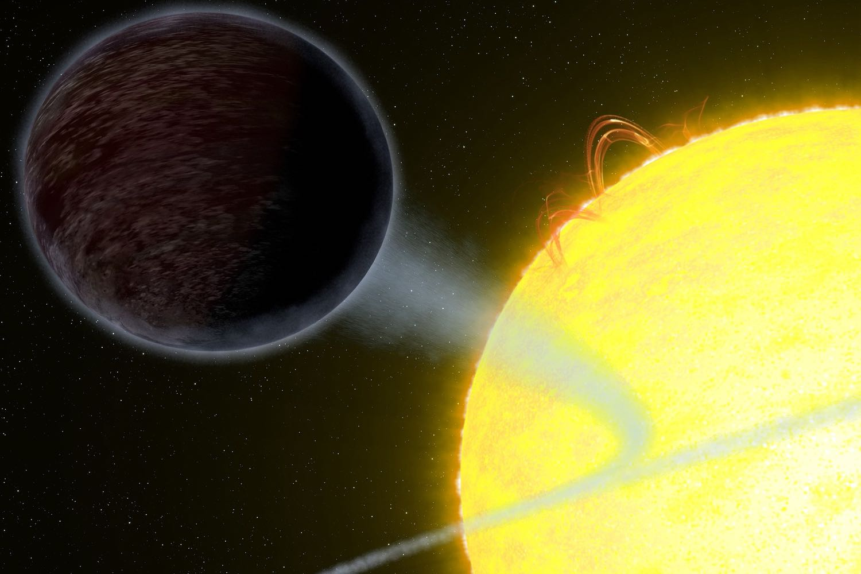 WASP-12b exoplanet