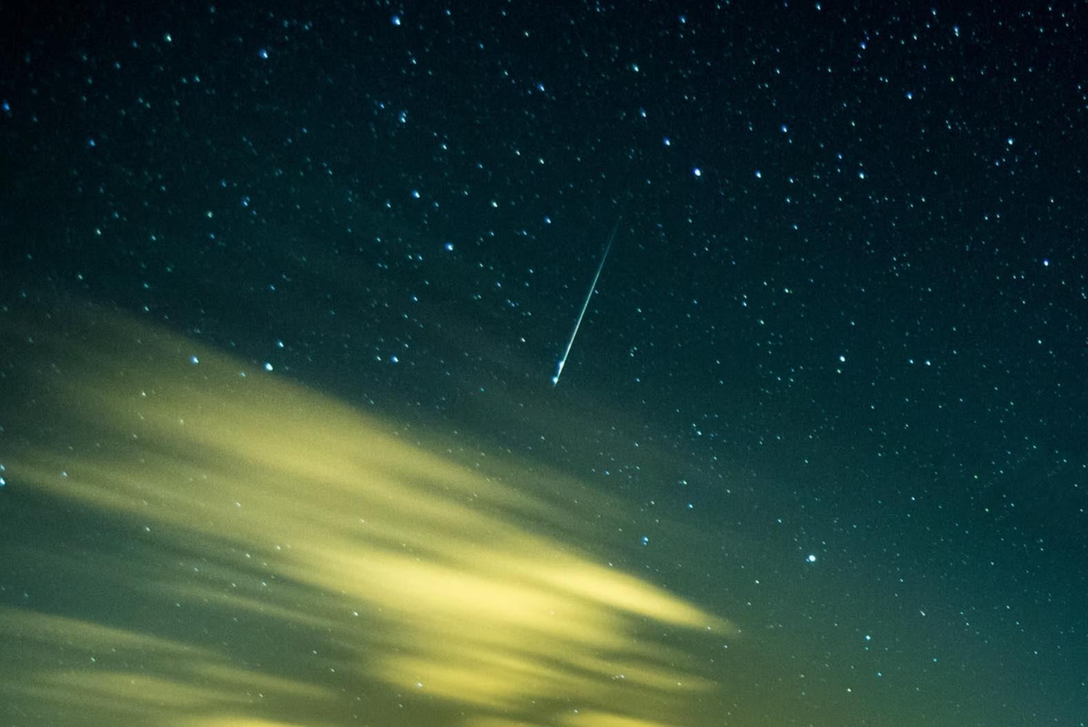 bright meteors